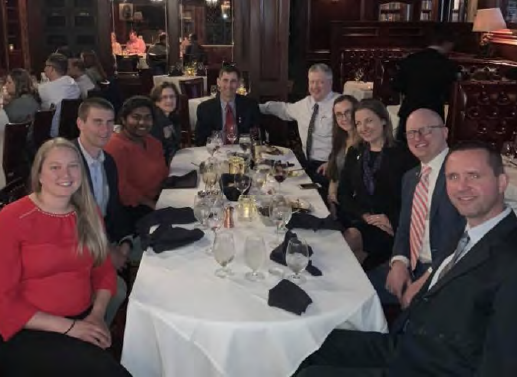2019 Doctor Day WSS Fellowship Dinner – Rare Steakhouse