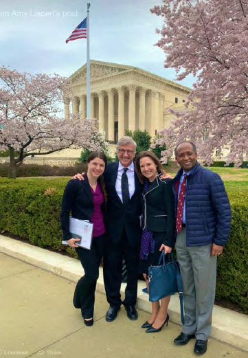 WWS Members at the ACS Leadership and Advocacy Summit Supreme Court – Washington DC 2019